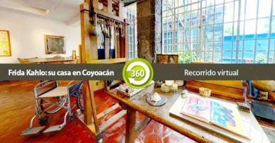 Recorrido virtual Museo Frida Kahlo