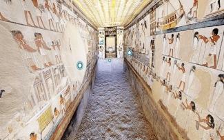 Paseo tumbas egipcias