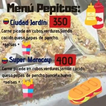 menu pepitos