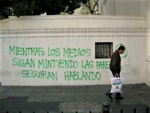 grafiti medios